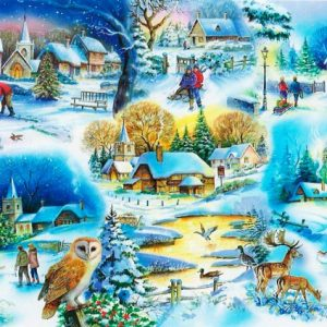 Let It Snow The House Of Puzzles Legpuzzel 5060002001745 1.jpg