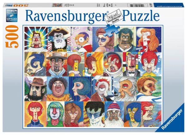 Lettertypes Legpuzzels Ravensburger