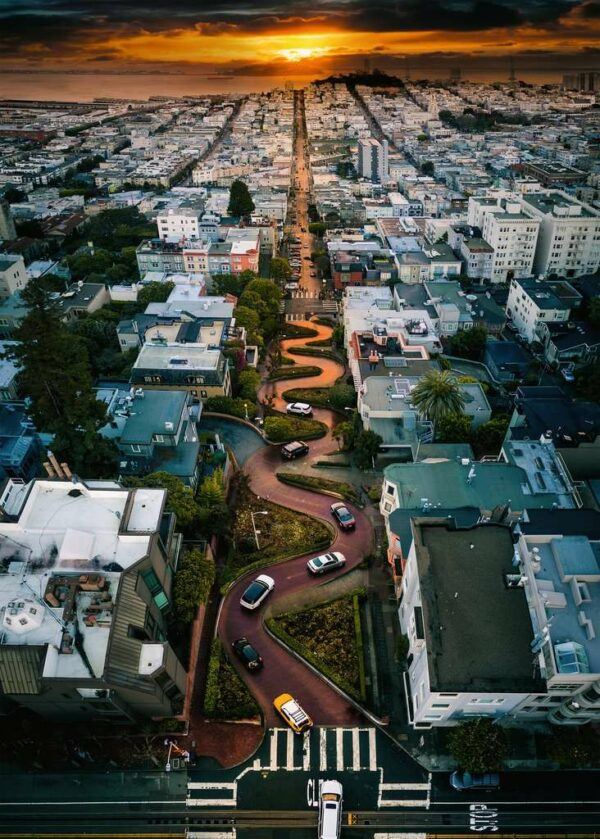 Lombard Street San Fransisco Legpuzzels Ravensburger