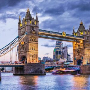 Londen Bridge Thames Theems