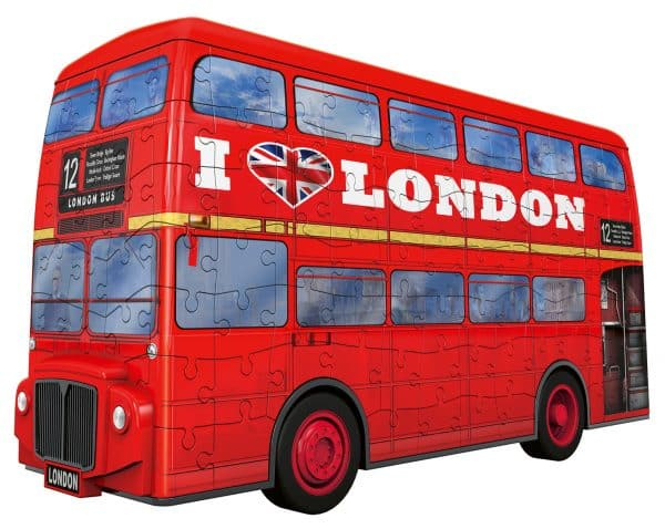 London Bus Ravensburger125340 01 Legpuzzels.nl