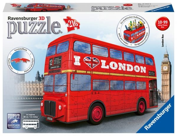 London Bus Ravensburger125340 02 Legpuzzels.nl