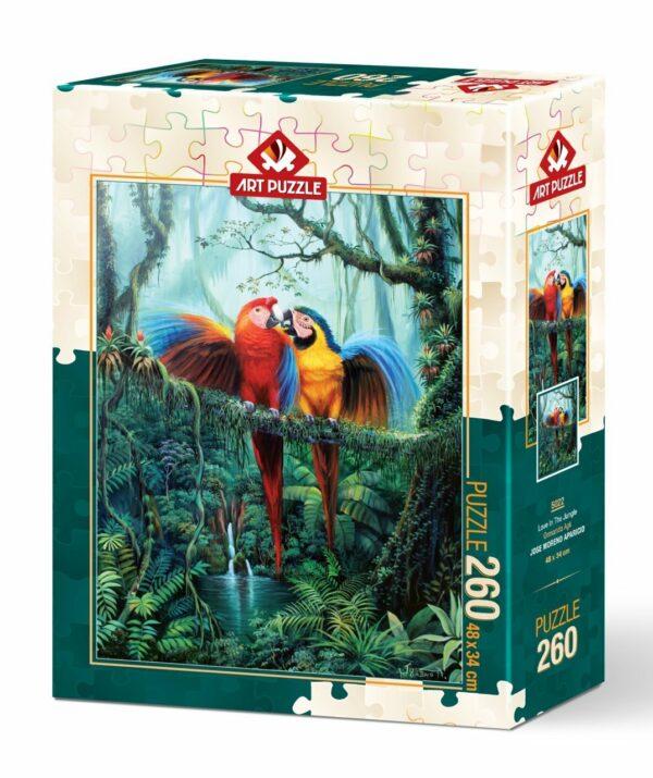 love in the jungle 5022 art puzzel 2