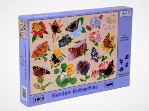 mc530 garden butterflies legpuzzels.nl