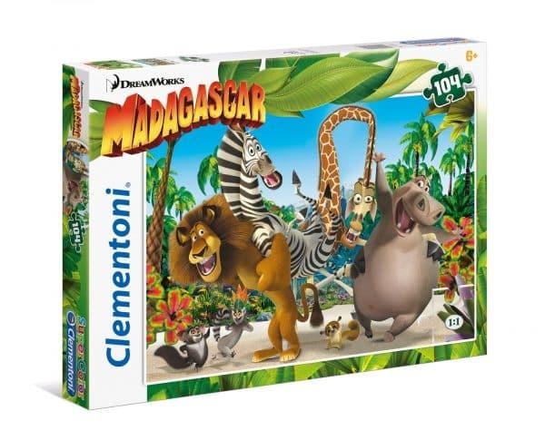 Madagascar Evolution Gone Wrong Clementoni27941 02 Kinderpuzzels.jpg