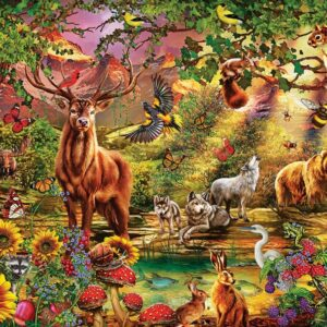 magic forest 5176 art puzzel 1