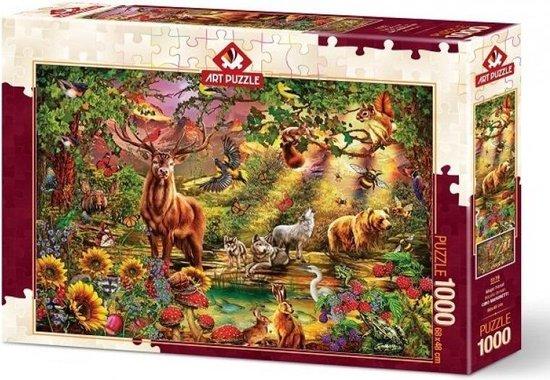 Magic Forest Art Legpuzzels