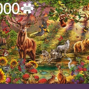 Magic Forest At Sunset Jumbo18868 01 Legpuzzels.nl