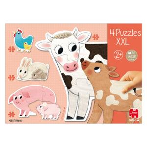 mama en kind vorm puzzel xxl 4 in 1 jumbo 53175 int 4
