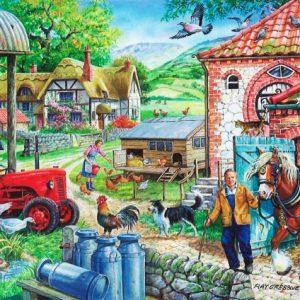 Manor Farm The House Of Puzzles Legpuzzel 5060002001752 1.jpg