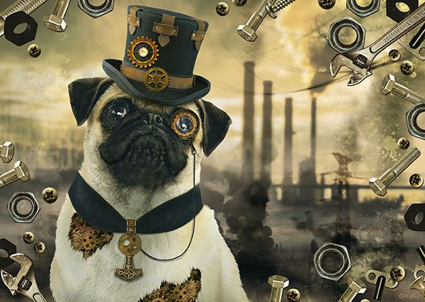 Markus Binz Steampunk Hond Schmidt