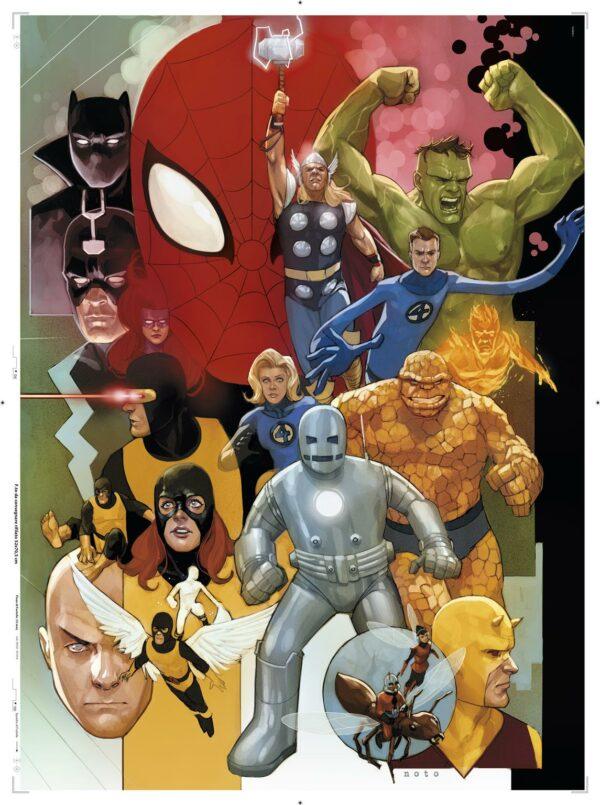 Marvel Clementoni 80 Years Jaar