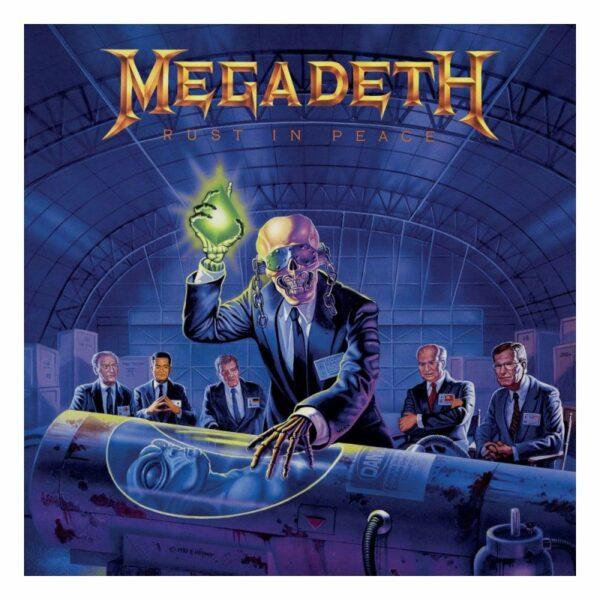 Megadeth Rust In Peace Rocksaw