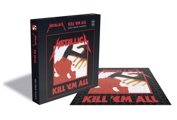 Metallica Kill Em All Rocksaws34459 01 Legpuzzels.nl