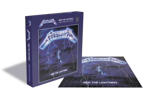 Metallica Ride The Lightning Rocksaws34466 01 Legpuzzels.nl