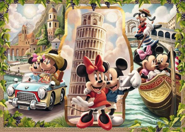 Mickey Mouse Legpuzzels