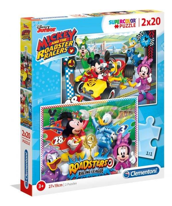 Mickey Mouse Roadster Clementoni Kinderpuzzel