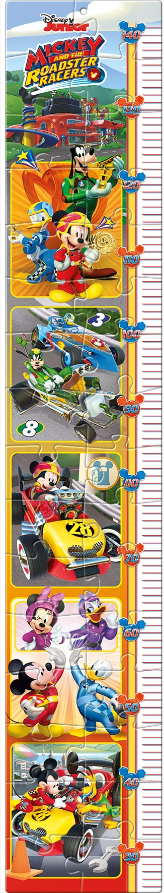 Mickey Roadster Racers Clementoni groeimeter