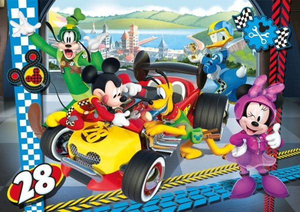 Mickey Minnie Mouse Clementoni Kinderpuzzel