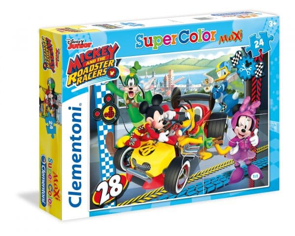 Mickey Roadster Racers Clementoni Kinderpuzzel