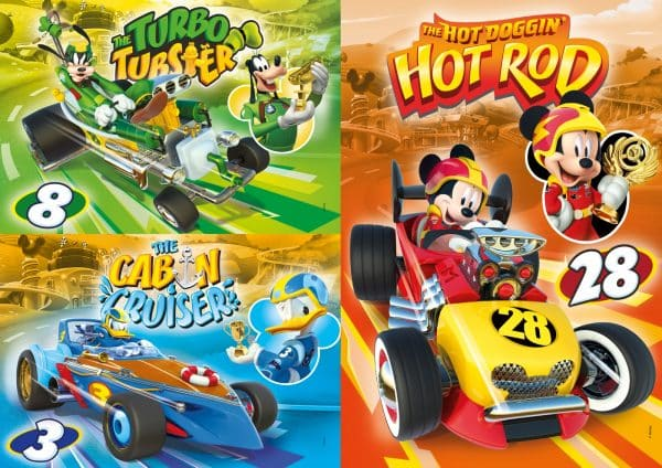 Mickey Roadster Racers Clementoni25227 02 Kinderpuzzels.jpg