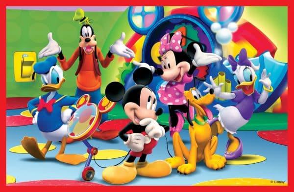 Mickeys Clubhuis Clementoni Kinderpuzzel