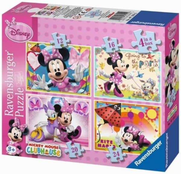 Minnie Mouse 4 In 1 Ravensburger072552 01 Kinderpuzzels.nl .jpg