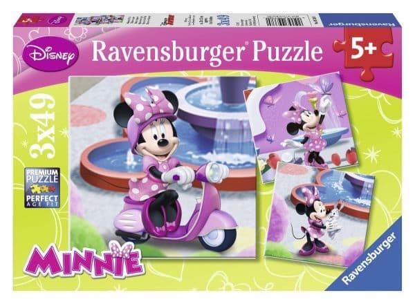 Minnie Mouse Boutique Minnie In Het Park Ravensburger093380 01 Kinderpuzzels.nl .jpg