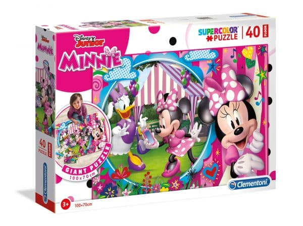 Minnie Mouse Vloerpuzzel Clementoni Kinderpuzzel