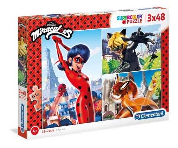 Miraculous Clementoni Kinderpuzzels Ladybug