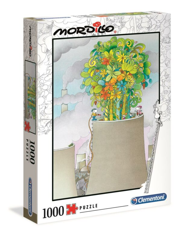 Mordillo The Cure Clementoni39535 02 Legpuzzels
