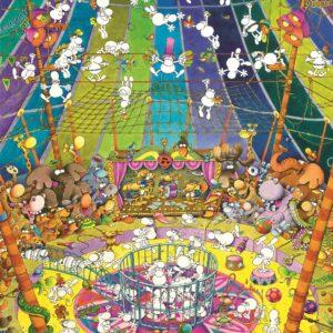 Mordillo Circus Clementoni Puzzel Dieren
