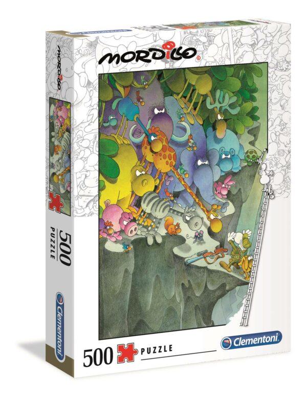 Mordillo The Surrender Clementoni Dieren