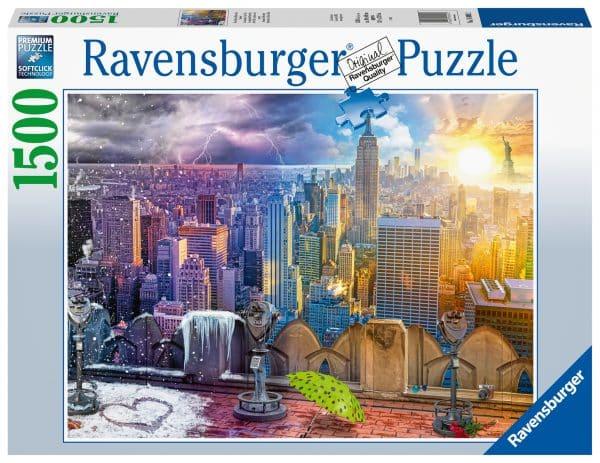 Ny Skyline Dag En Nacht Ravensburger160082 02 Legpuzzels.nl
