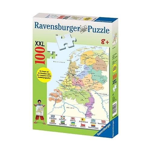 Nederland Kaart Cito Ravensburger Kinderpuzzels