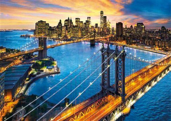 New York Clementoni Puzzel