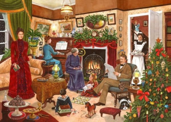 No.12 Christmas Past The House Of Puzzles Legpuzzel 5060002004166 1.jpg
