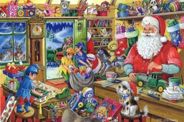 No.5 Santas Workshop The House Of Puzzles Legpuzzel 5060002001950 1.jpg