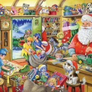 No.5 Santas Workshop The House Of Puzzles Legpuzzel 5060002002162 1.jpg