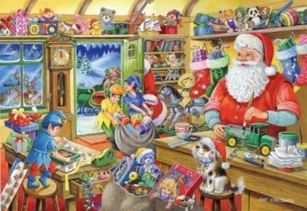 No.5 Santas Workshop The House Of Puzzles Legpuzzel 5060002002162 1.jpg