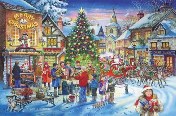 No.6 Christmas Shopping The House Of Puzzles Legpuzzel 5060002002254 1.jpg