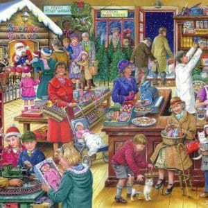 No.9 Christmas Treats The House Of Puzzles Legpuzzel 5060002003152 1.jpg