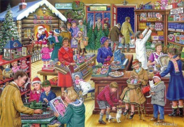 No.9 Christmas Treats The House Of Puzzles Legpuzzel 5060002003152 1.jpg