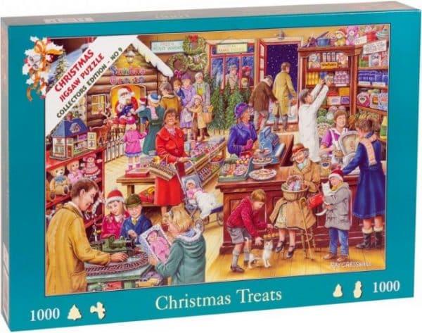 No.9 Christmas Treats The House Of Puzzles Legpuzzel 5060002003152 2.jpg