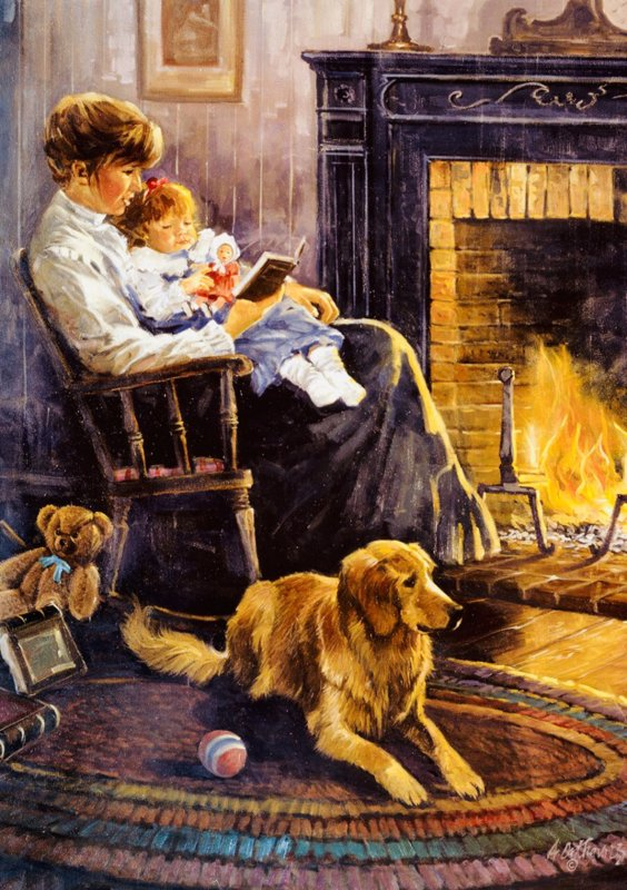 nostalgia bedtime story 5173 art puzzel 1