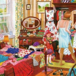 Nothing To Wear The House Of Puzzles Legpuzzel 5060002003251 1.jpg