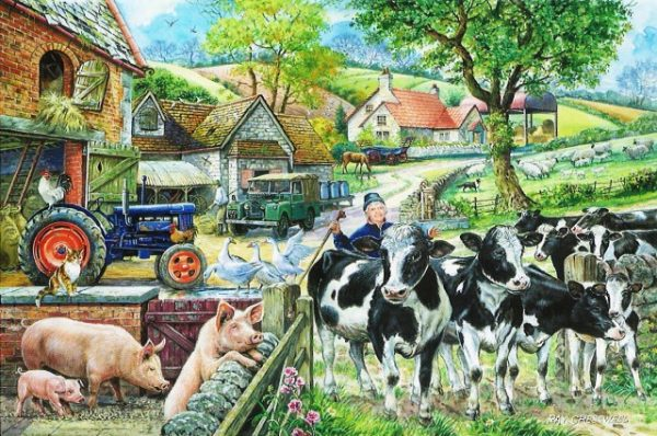 Oak Tree Farm The House Of Puzzles Legpuzzel 5060002002223 1.jpg