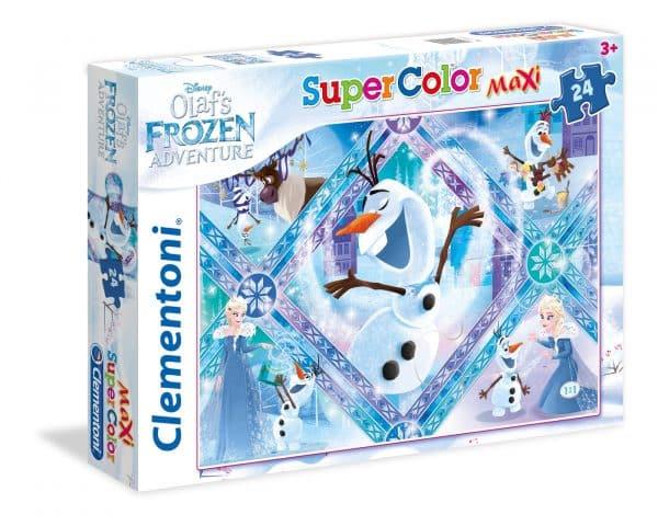 Olaf Frozen Adventure Clementoni Kinderpuzzel