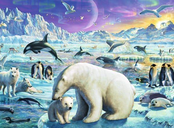 IJsberen Pooldieren Ravensburger Kinderpuzzel