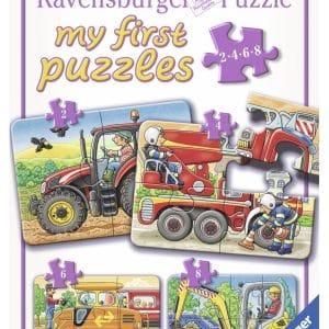 Op Het Werk Mijn Eerste Puzzel 4 In 1 Ravensburger069545 01 Kinderpuzzels.nl .jpg